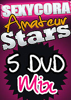Sexy Cora: Amateurstars Mix Paket - 5 DVD Set