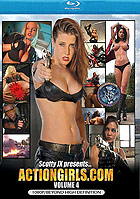 Actiongirls Volume 4 Blu ray Disc