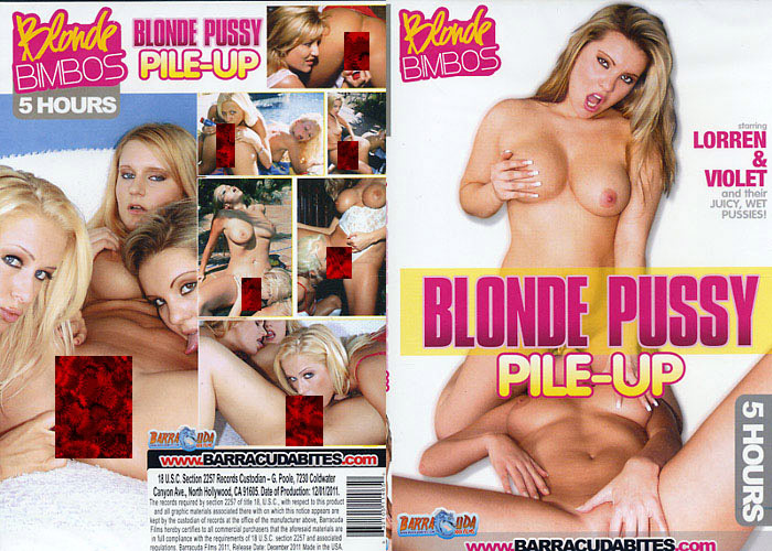 Blonde Pussy Pile Up - 5 Stunden