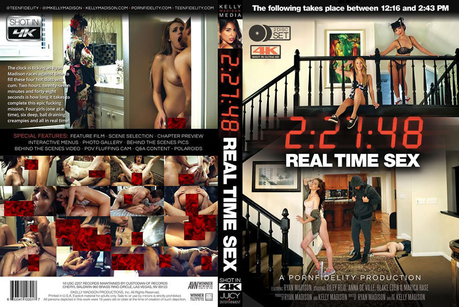2:27:48 Real Time Sex - 2 Disc Set