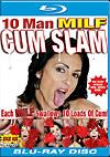 10 Man MILF Cum Slam - Blu-ray Disc