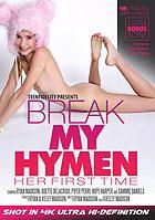 Break My Hymen Her First Time 2 Disc Set