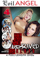 Depraved Sluts 4 Pack - 4 Disc Set