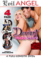 Deviant Young Sluts - 4 Disc Set