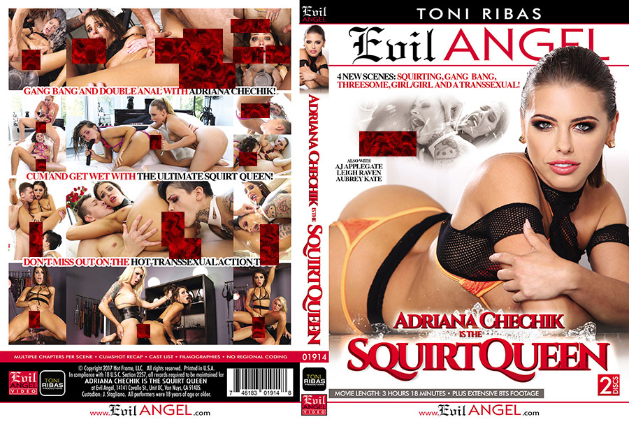 Adriana Chechik Is The Squirt Queen - 2 Disc Set