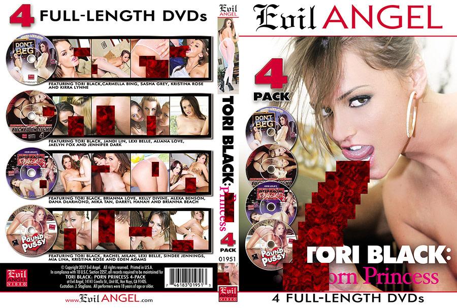 Tori Black: Porn Princess - 4 Disc Set