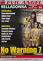 Belladonna No Warning 7  Special 2 Disc Set