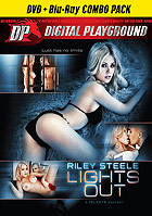 Riley Steele Lights Out  DVD + Blu ray Combo Pack