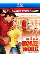 Jesse Jane Homework  Blu ray Disc
