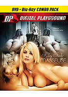 Riley Steele The Masseuse  DVD + Blu ray Combo Pac