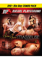 Jesse Jane The Masseuse 2  DVD + Blu ray Combo Pac