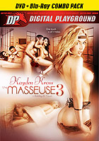Kayden Kross The Masseuse 3 DVD + Blu ray Combo P