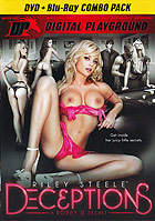 Riley Steele Deceptions  DVD + Blu ray Combo Pack