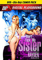 Kayden Kross Dont Fuck My Sister  DVD + Blu ray Co