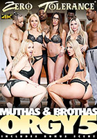 Muthas Brothas Orgy 5 DVD - buy now!