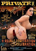 Aletta Ocean in Gold  A Double Penetration Celebration