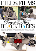 Tongue Bathing Black Babes