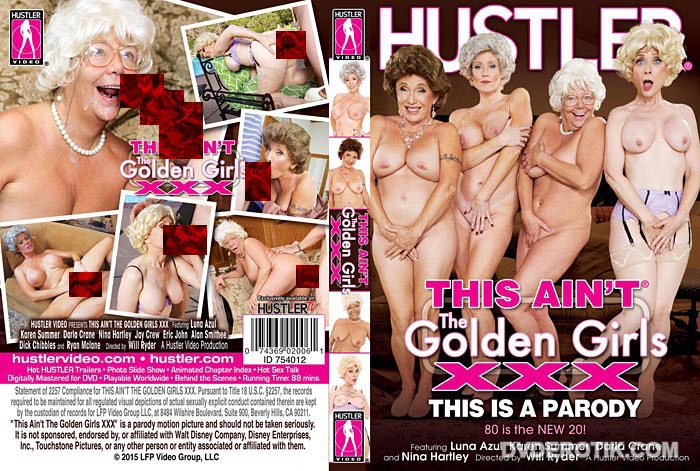 Pretty parody sex golden girls pretty good