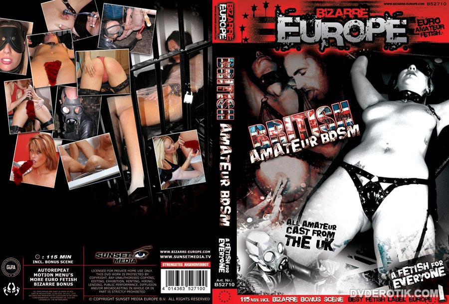 british amateur dvd
