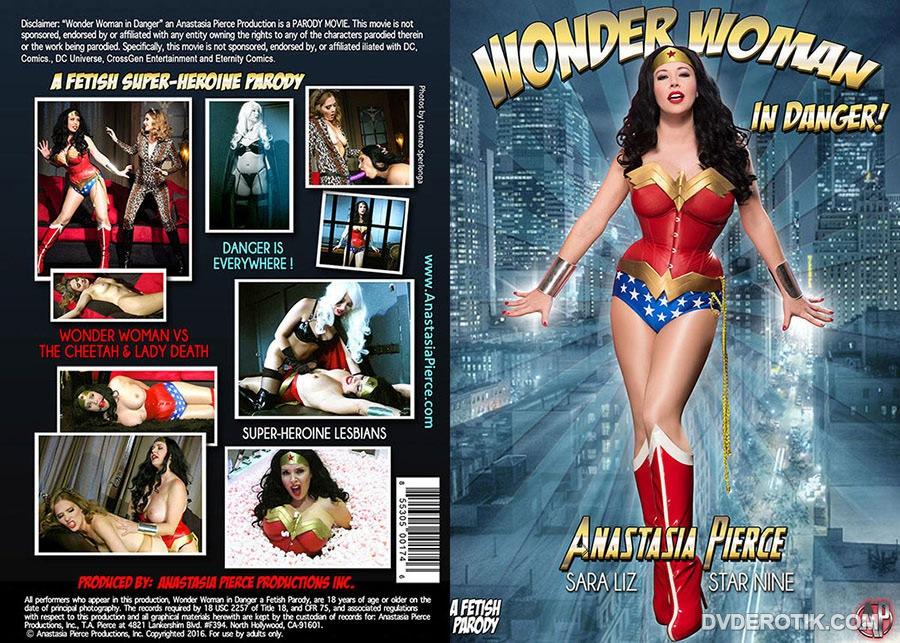 Wonder woman xxx dvd cover