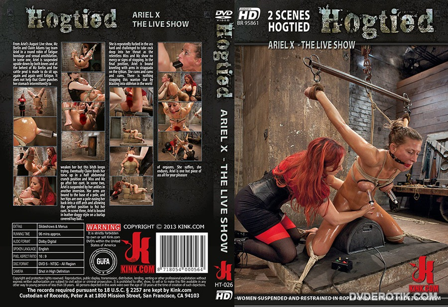 live sex show hogtied