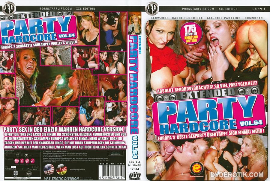 Party Hardcore-DVD Mädchen auf der