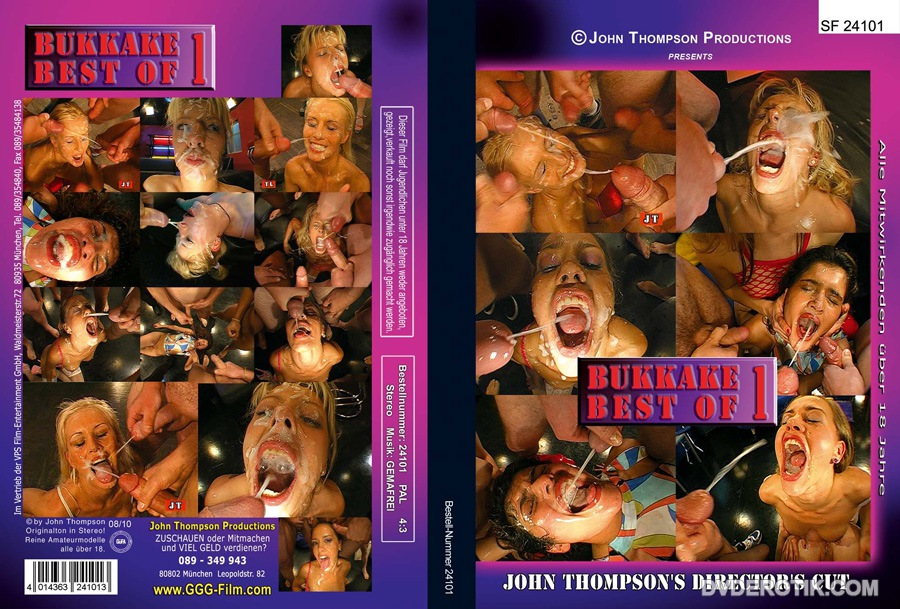 Bukkake thompson dvd
