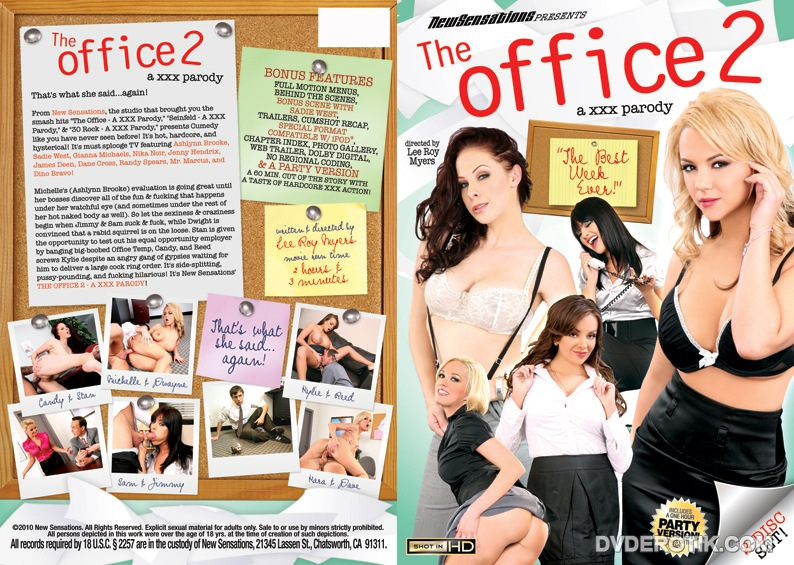 Something is. Office xxx parody touching