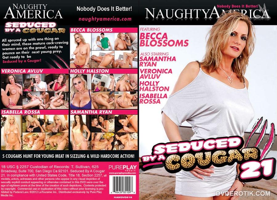Cougar woman seduced by
