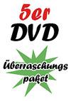 5er DVD Überraschungspaket