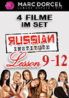 Marc Dorcel Paket: Russian Institute 9-12 - 4 Disc Set
