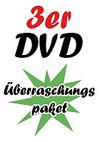 3er DVD Überraschungspaket