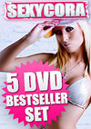 5 DVD Sexy Cora Bestseller Set