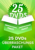 25er DVD Überraschungspaket