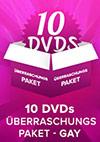 10er Gay DVD Überraschungspaket
