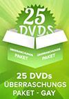 25er Gay DVD Überraschungspaket