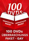 100er Gay DVD Überraschungspaket