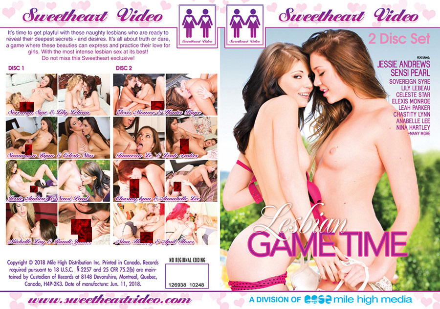 Lesbian Game Time - 2 Disc Set