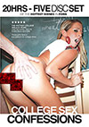 College Sex Confessions - 5 Disc Set - 20h