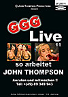 GGG Live 11: So arbeitet John Thompson