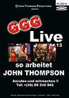 GGG Live 13: So arbeitet John Thompson