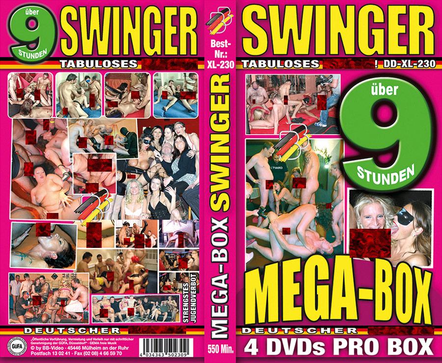 Mega-Box: Swinger - 4 DVDs - 9 Stunden
