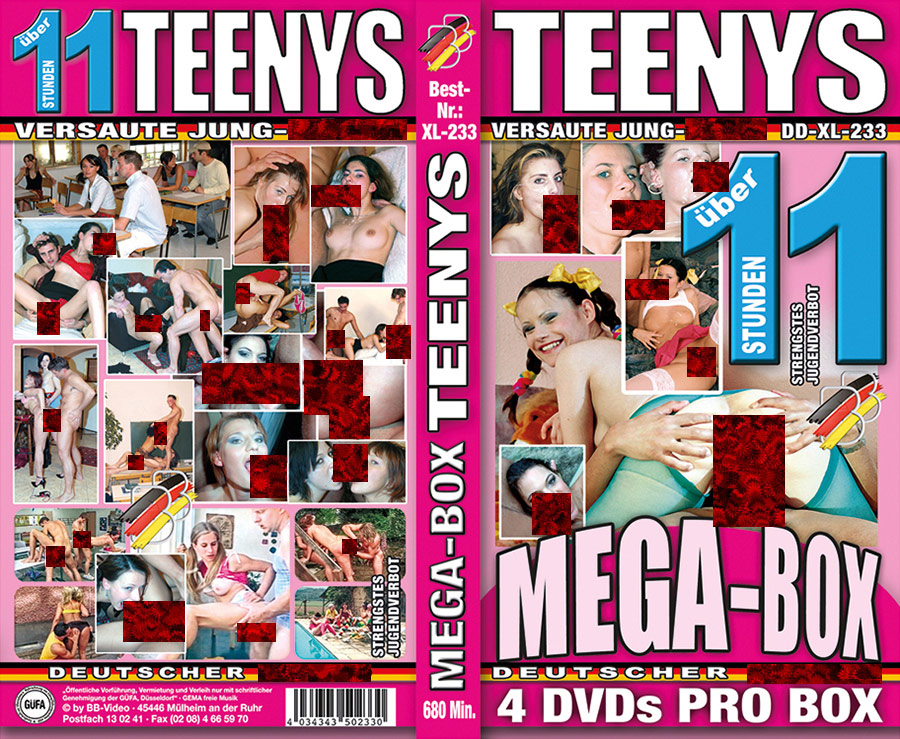 Mega-Box: Teenys - 4 DVDs - 11 Stunden