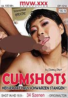 Cumshots: Heißer Saft aus schwarzen Stangen!