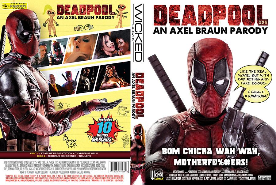 Deadpool XXX: An Axel Braun Parody - 2 Disc Set