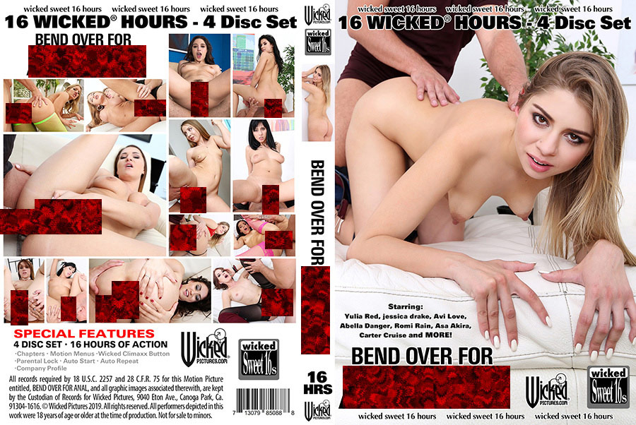 Bend Over For Anal - 4 Disc Set - 16h