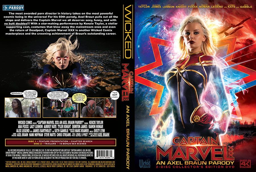 Captain Marvel XXX: An Axel Braun Parody - 2 Disc Set