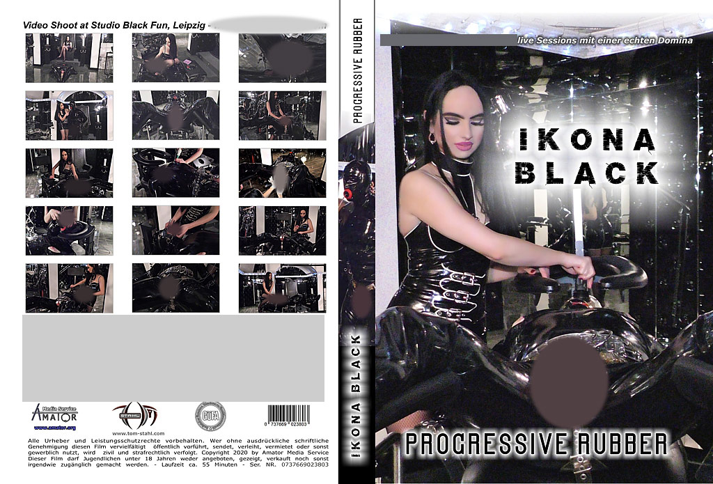 Ikona Black: Progessive Rubber