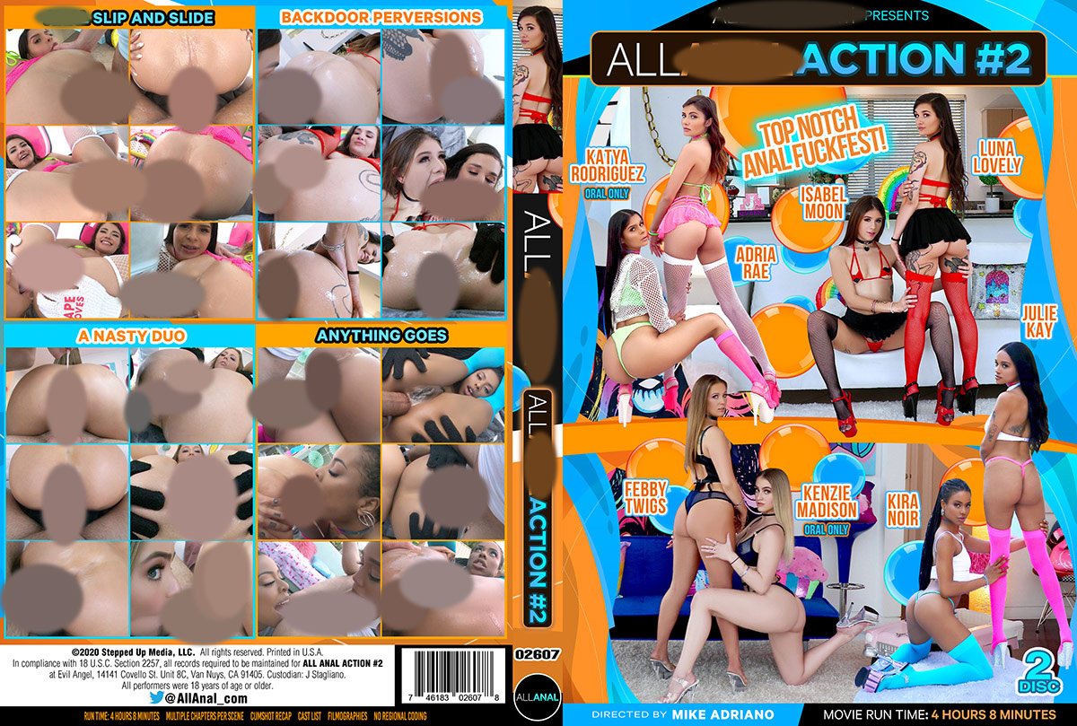 All Anal Action 2 - 2 Disc Set