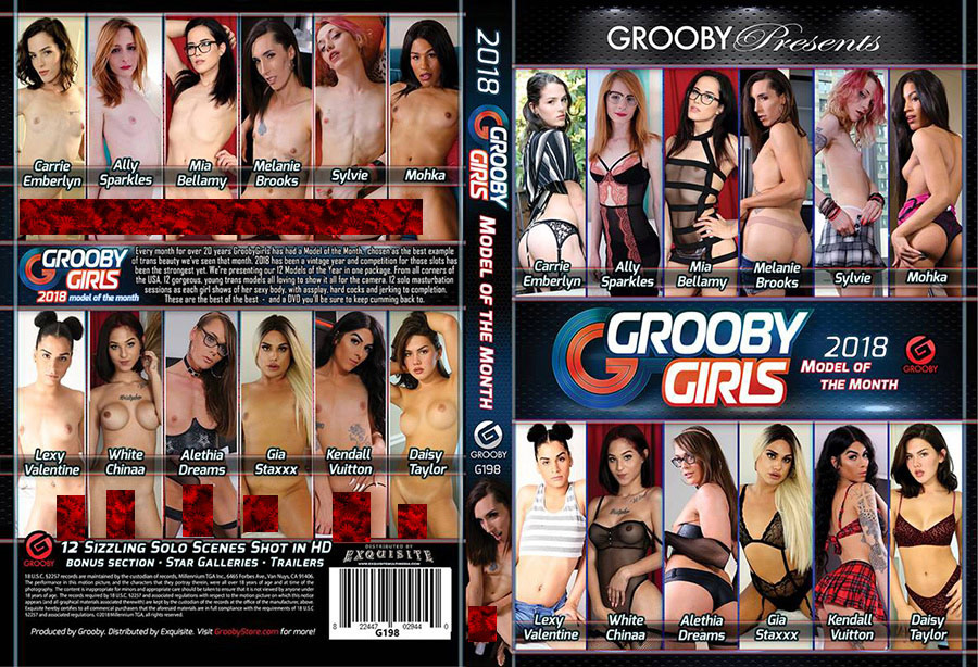 Grooby Girls: Model Of The Month 2018